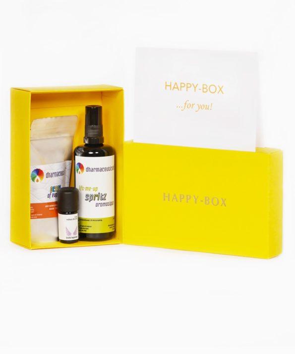 HAPPY-BOX - Schenken Sie eine Portion Glück