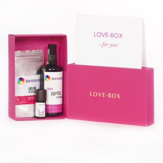 LOVE-BOX Geschenkset - Ganz viel Liebe verschenken