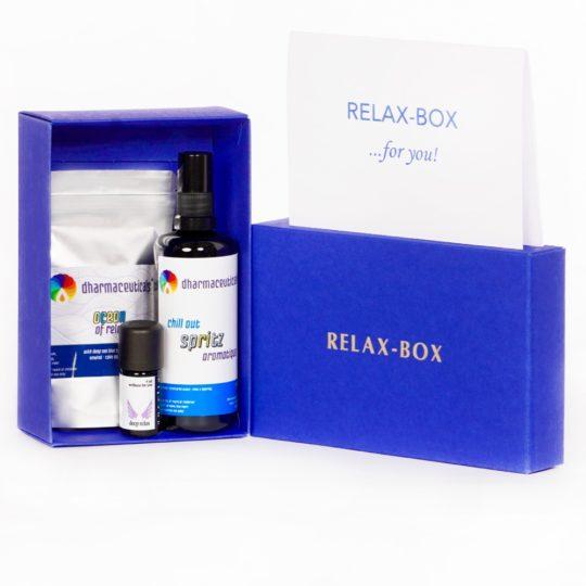 RELAX-BOX Geschenkset - Schenken Sie ganz viel Entspannung!